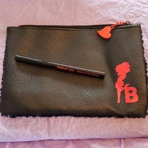 Betty boop ipsy bag with Betty boop eyeliner